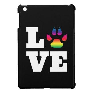 Rainbow paw iPad mini cases