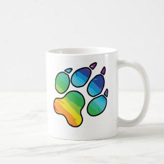 Rainbow Paw Mug