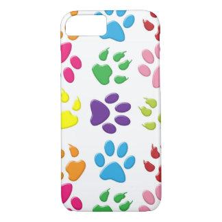 Rainbow Paw Prints iPhone 7 iPhone 7 Case