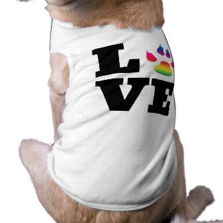 Rainbow paw shirt