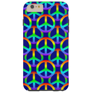 Rainbow Peace Sign Pattern Phone Case