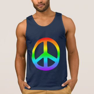 Rainbow Peace Sign Shirt
