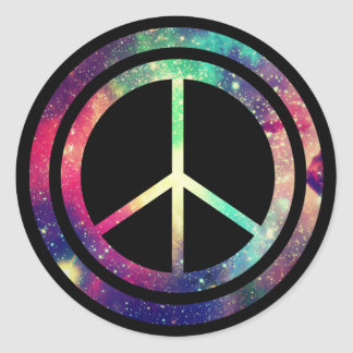 Rainbow Peace Sticker
