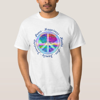 Rainbow Peace Symbol T-Shirt
