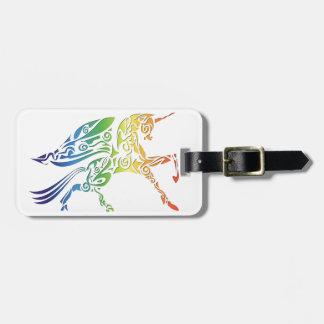 Rainbow Pegasus Merchandise Bag Tag