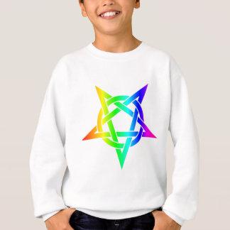 Rainbow Pentagram Sweatshirt