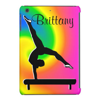 RAINBOW PERSONALIZED GYMNASTICS IPAD MINI CASE
