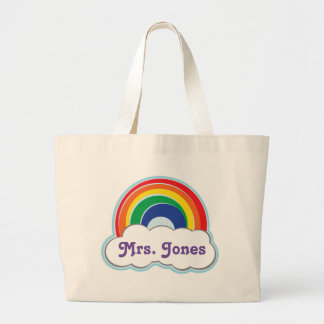 RAINBOW |personalized tote bag