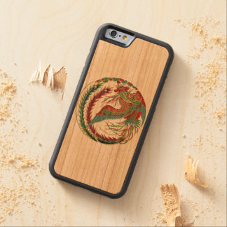 """Rainbow Phoenix Phone case"" Carved Cherry iPhone 6 Bumper Case"