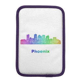 Rainbow Phoenix skyline iPad Mini Sleeve