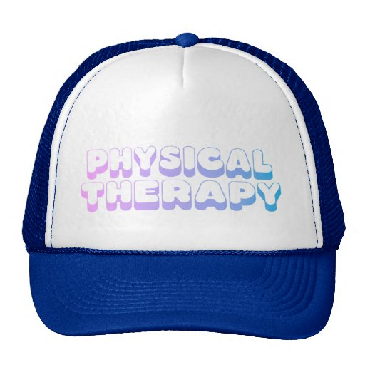 Rainbow Physical Therapy Trucker Hats