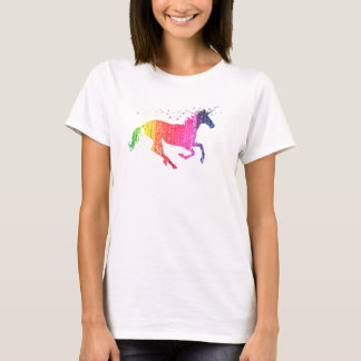 Rainbow Pink Unicorn T-Shirt