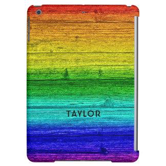 Rainbow Planks custom name device cases iPad Air Cases
