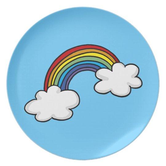Rainbow Plate