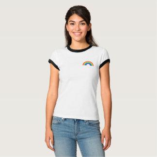 Rainbow pocket left chest T-Shirt