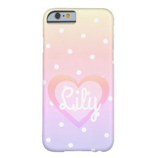 Rainbow Polka Dot Customisable IPhone 6/6S Case