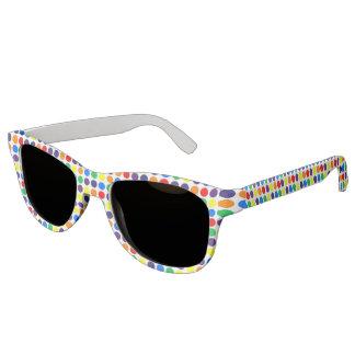 Rainbow Polka Dots Sunglasses