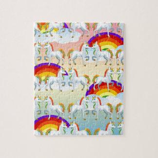 Rainbow pony jigsaw puzzle