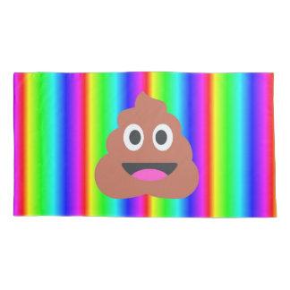 rainbow poop emoji bedroom pillowcase pillow case