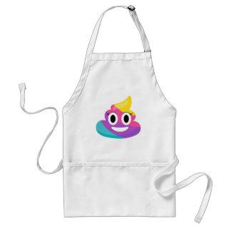 Rainbow Poop Emoji Standard Apron