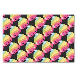 Rainbow Poop Emoji Tissue Paper
