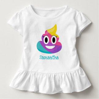 Rainbow Poop Emoji Toddler T-shirt