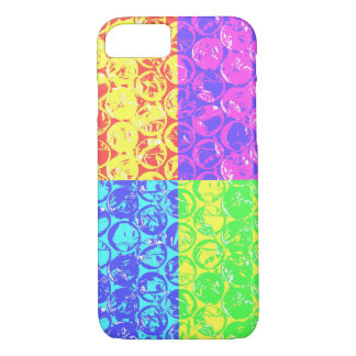 Rainbow pop art bubble wrap iPhone 7 case