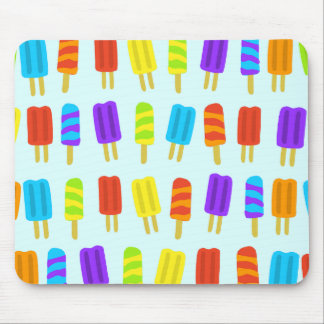 Rainbow Popsicles Mouse Pad