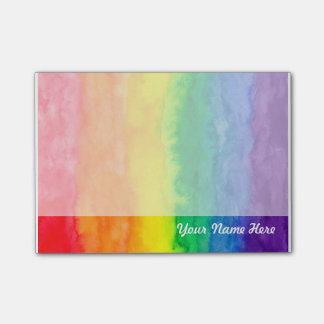 Rainbow Post it Note