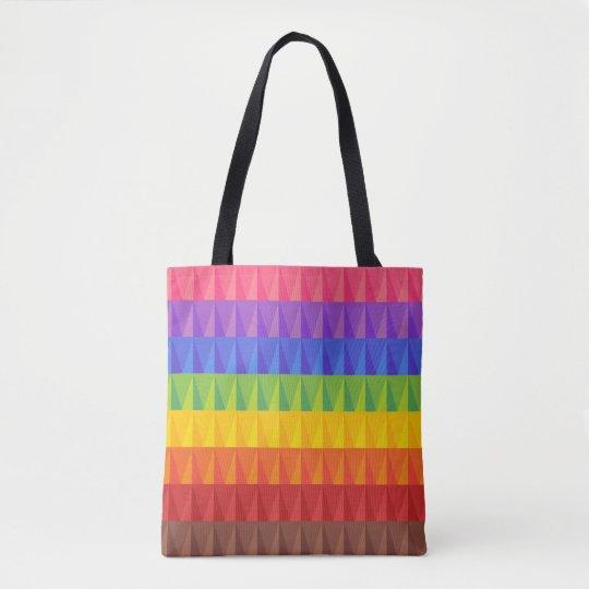 Rainbow pride bag