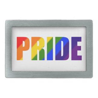 rainbow pride belt buckle