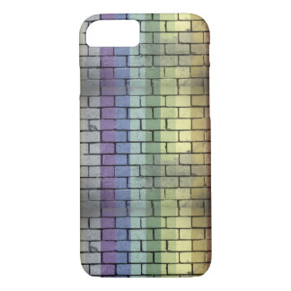 Rainbow Pride Brick Wall iPhone 8/7 Case