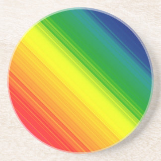 Rainbow Pride Colors, Sandstone Coasters