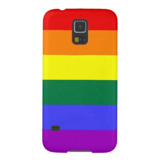 Rainbow Pride Flag Galaxy S5 Cases