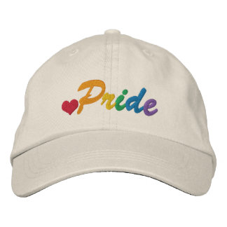 Rainbow Pride Gay Themed Embroidered Hat