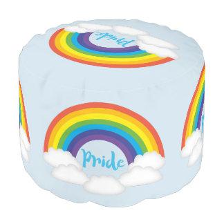 Rainbow Pride LGBTQ Furniture Pouf