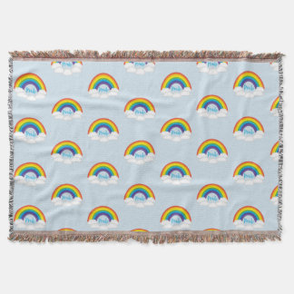 Rainbow Pride LGBTQ Throw Blanket