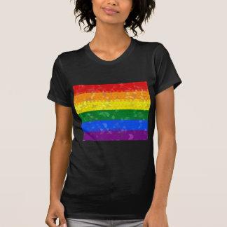 Rainbow Pride Mosaic Flag T-shirt