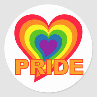 Rainbow Pride stickers