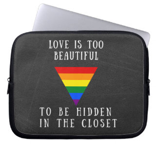 Rainbow Pride Tablet Cover Computer Sleeve