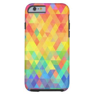 Rainbow Prism Diamond Pattern Tough iPhone 6 Case