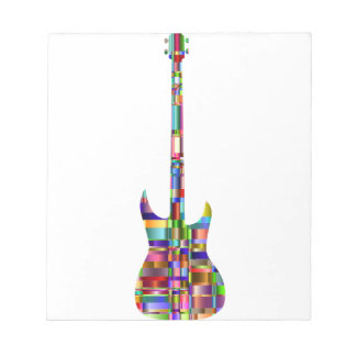 Rainbow Prismatic Guitar Notepad