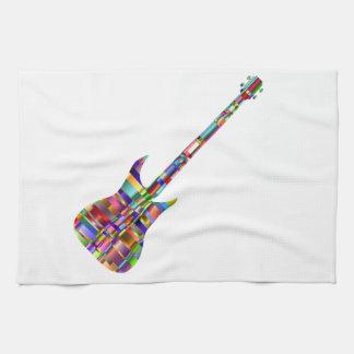 Rainbow Prismatic Guitar Towels