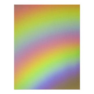 Rainbow Product Letterhead Design