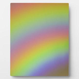 Rainbow Product Plaque