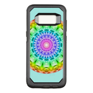 Rainbow Pulse Mandala OtterBox Commuter Samsung Galaxy S8 Case