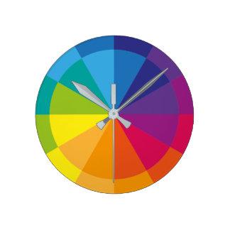 Rainbow Pure Round Clock