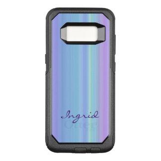Rainbow Purple Blue Green OtterBox Galaxy S8 Case