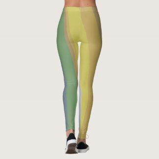Rainbow put-went for ladies leggings