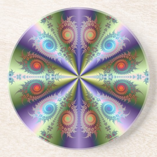 Rainbow Quartet Coaster